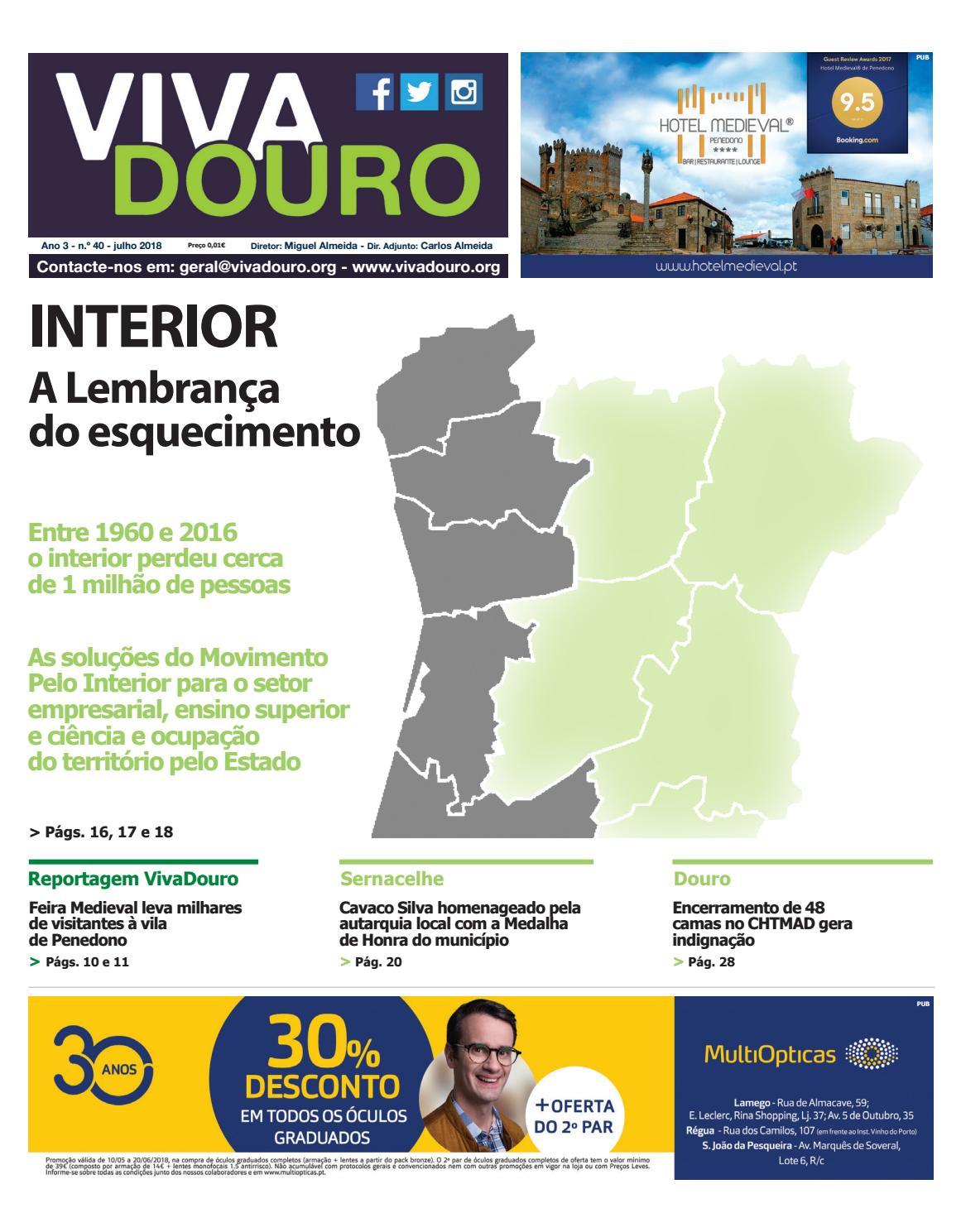 e41492e3a Jornal VivaDouro edição julho 2018 by Carlos Almeida - issuu