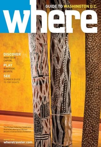 Where Magazine Washington Dc Aug 2018 By Morris Media Network Issuu