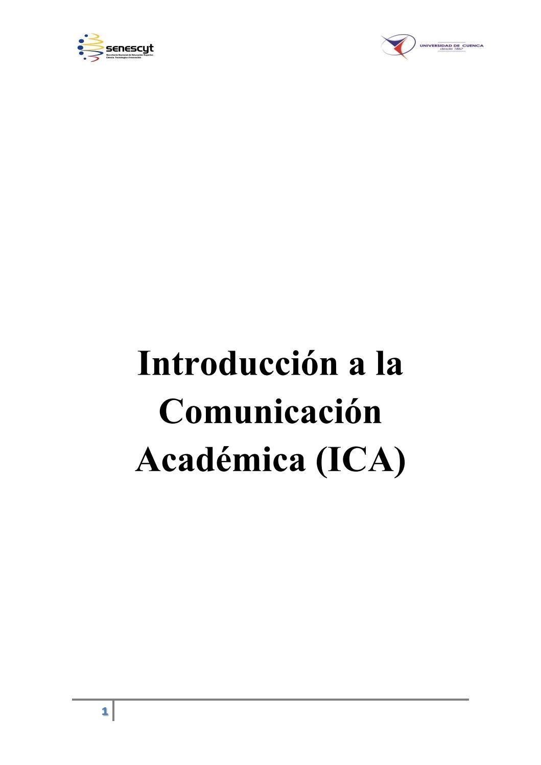 Introducción A La Comunicación Académica By Kerly Ramirez