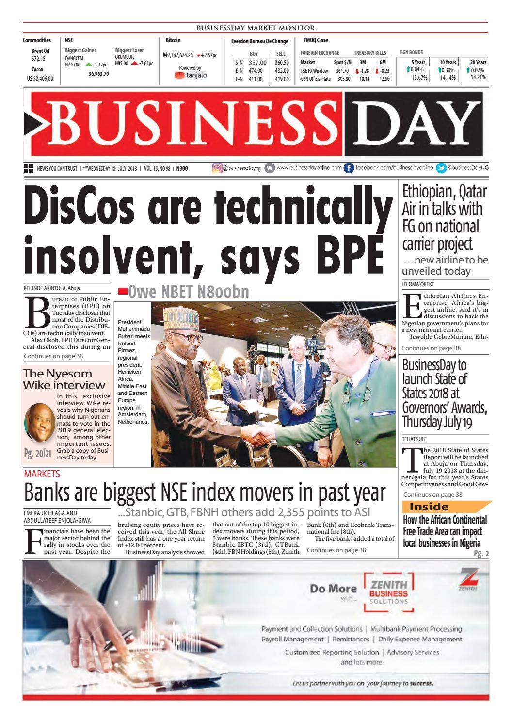BusinessDay 18 Jul 2018