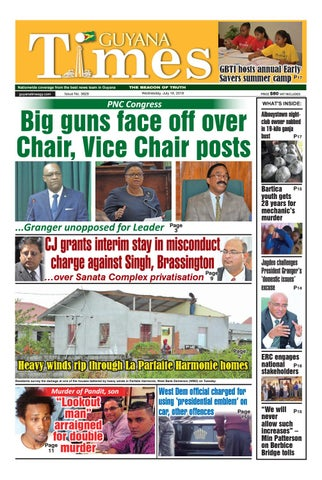 Guyana Times 18 July 2018 by Gytimes - issuu