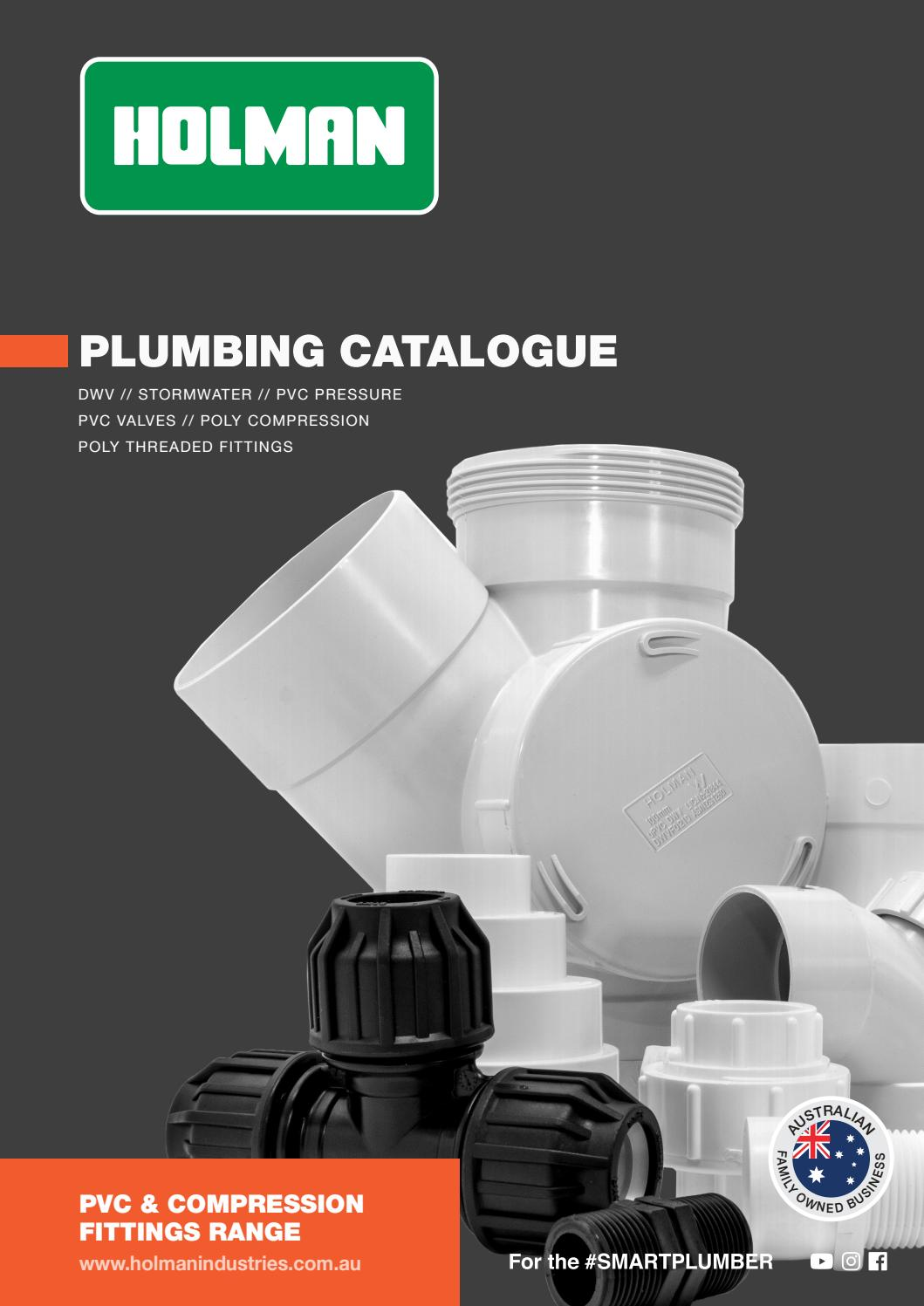 Holman Plumbing Catalogue 2018 by Holman Industries - issuu