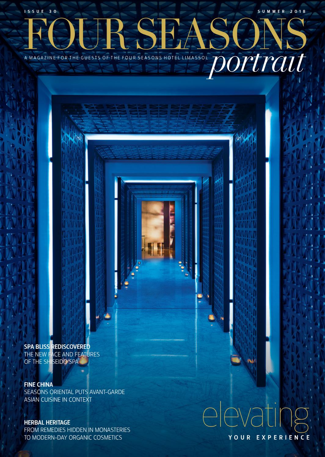 Four Seasons - Portrait - Issue 30 Summer 2018 by T&E
