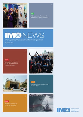 IMO News - Summer Issue - 2018 by IMO News Magazine - issuu