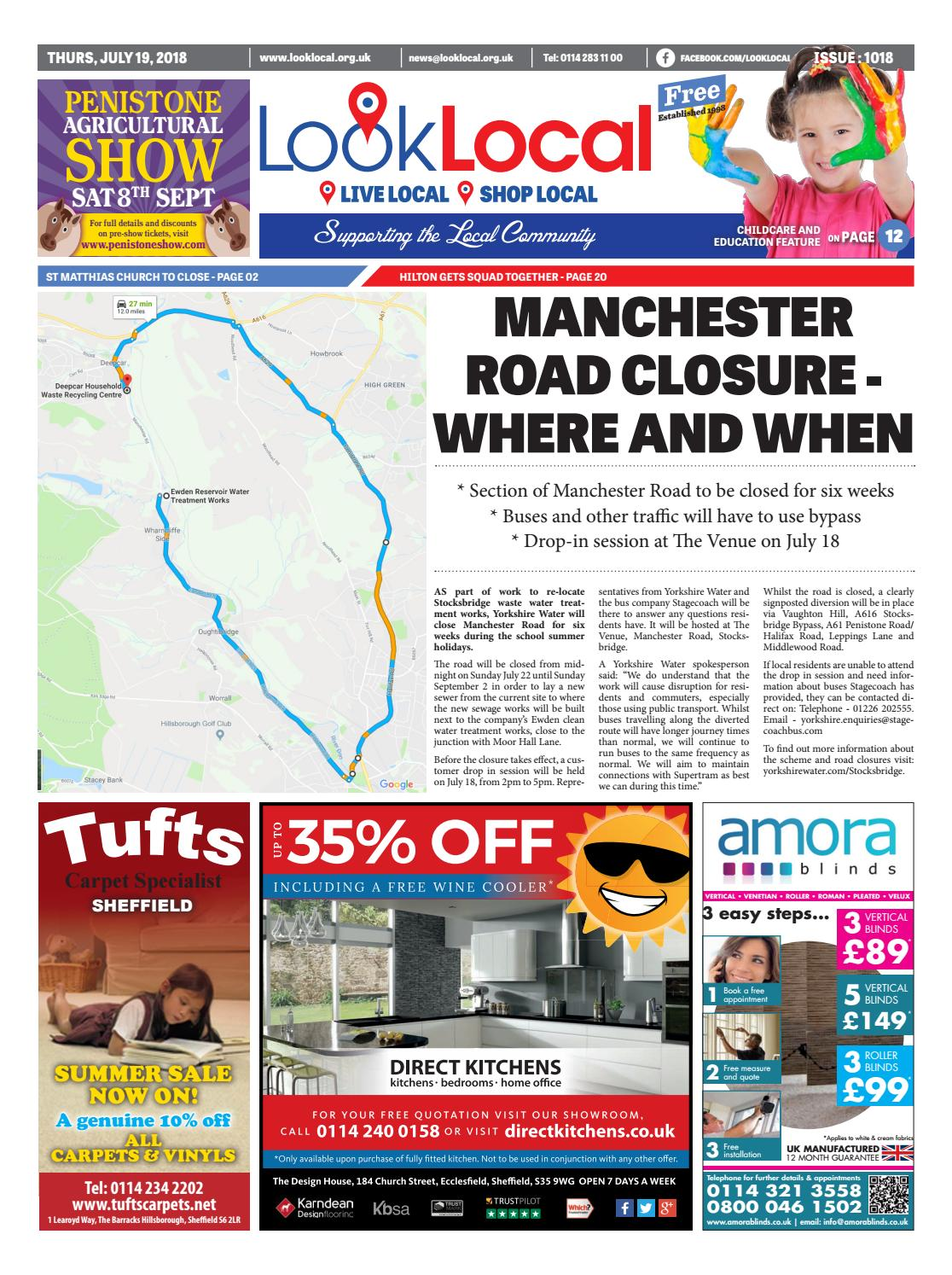 Issue 1018 Thursday 19 July 2018 By Look Local Newspaper Issuu Howreplaceblownfuse6427