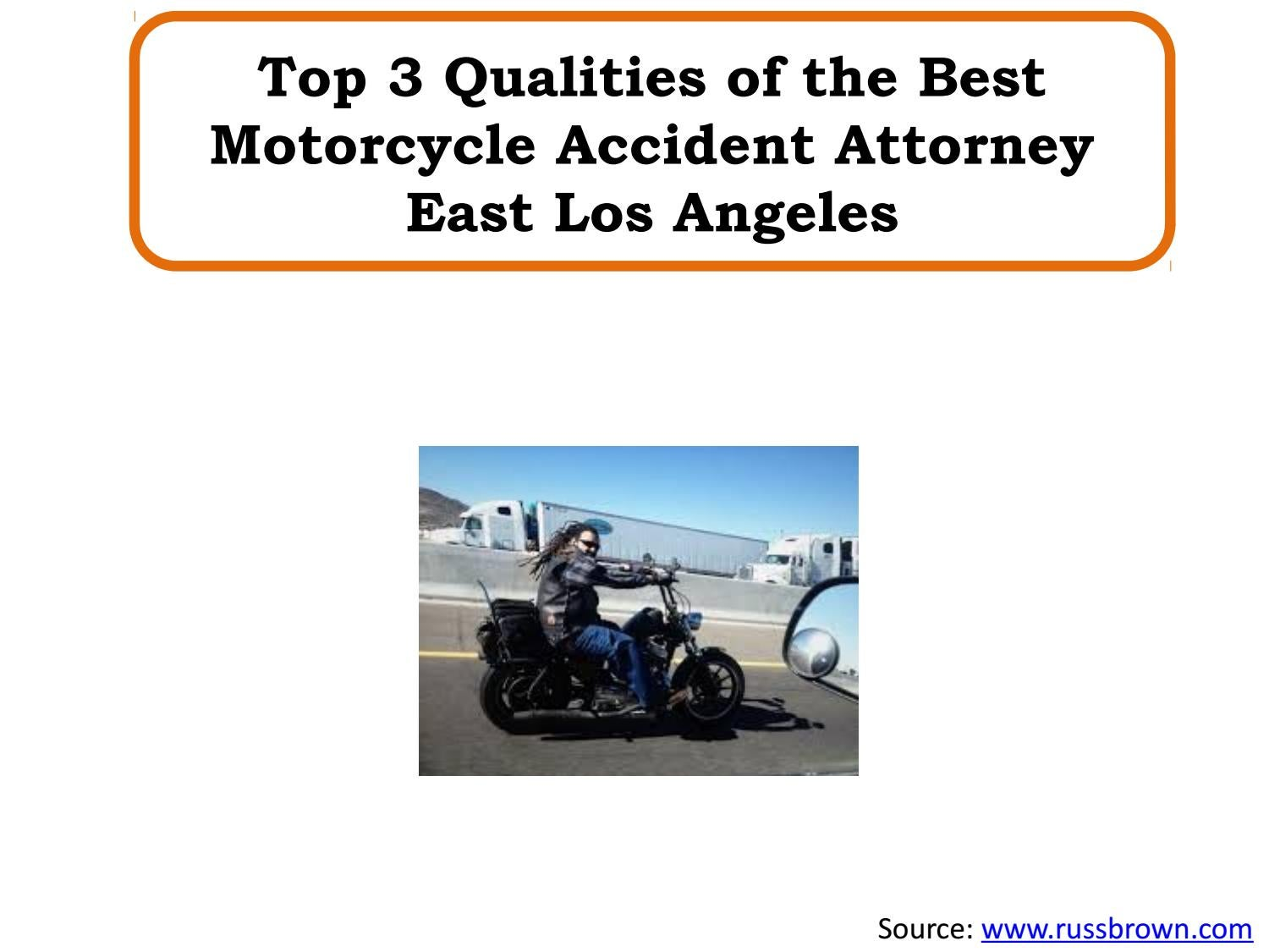 Top 3 Qualities of the Best Motorcycle Accident Attorney