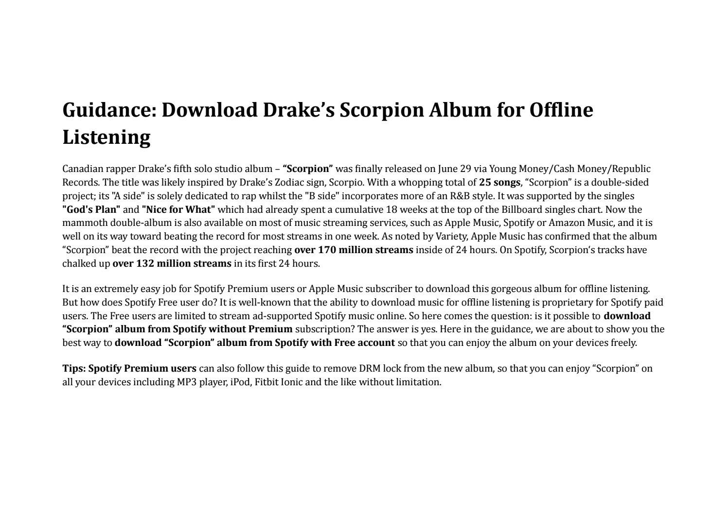 scorpion album download