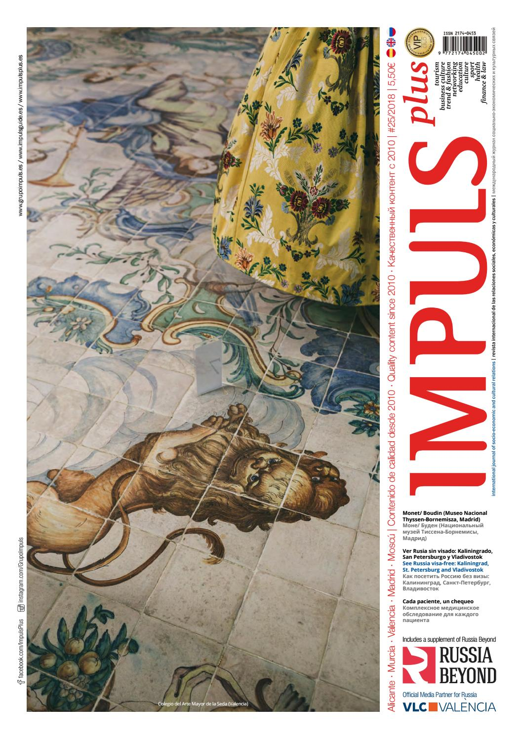 d9f36944ea43 Revista internacional Impuls PLUS n.25 by Grupo IMPULS - issuu