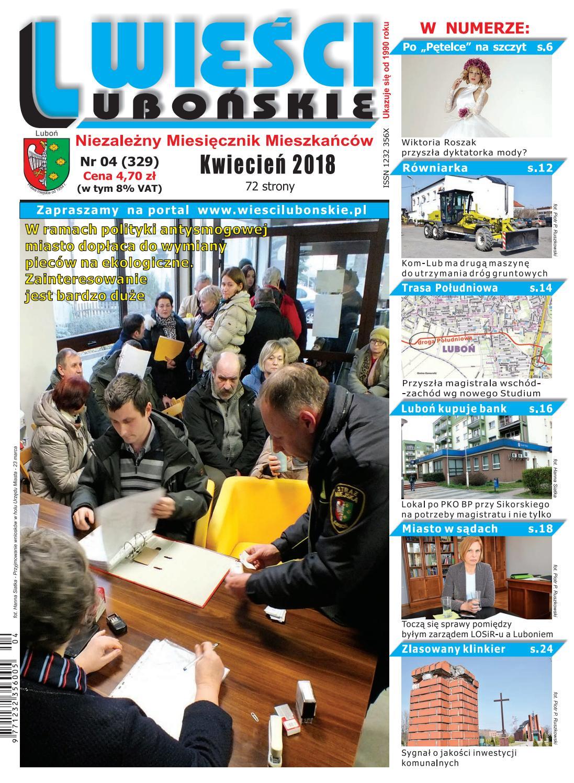 Wieści Lubońskie 201804 By Wiescilubonskie Issuu