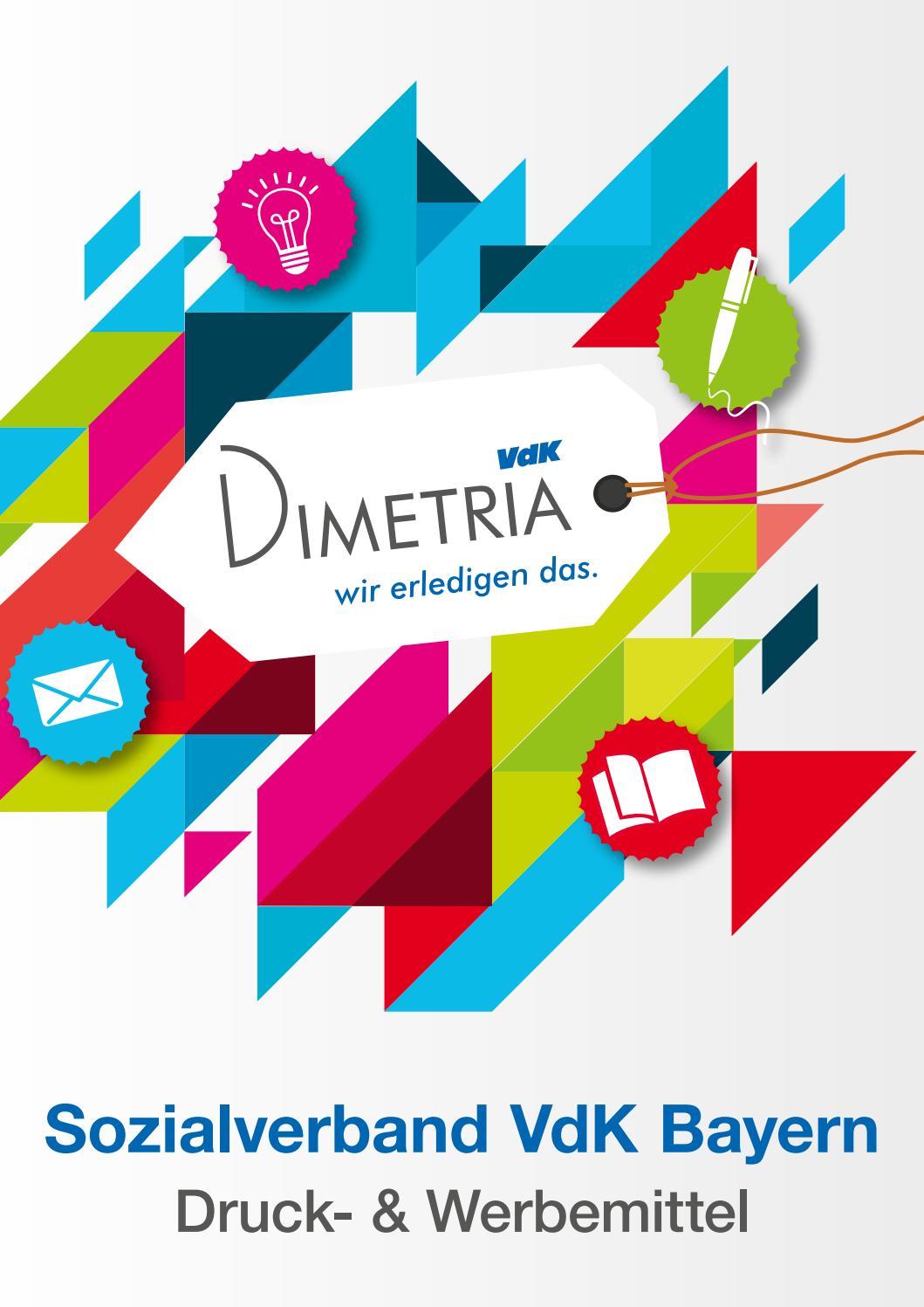 Dimetria Katalog Für Den Vdk Druck Werbe Und