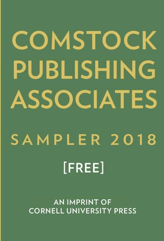Comstock Publishing Associates 2018 Catalog by Cornell University