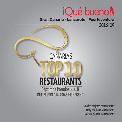 8e2af038f Qué bueno! Gran Canaria Lanzarote Fuerteventura 2018 19 by Que Bueno ...