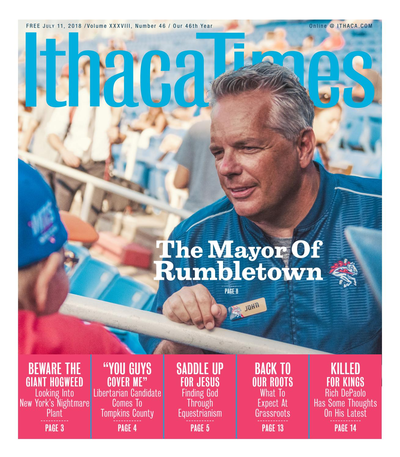 July 11 2018 By Ithaca Times Issuu