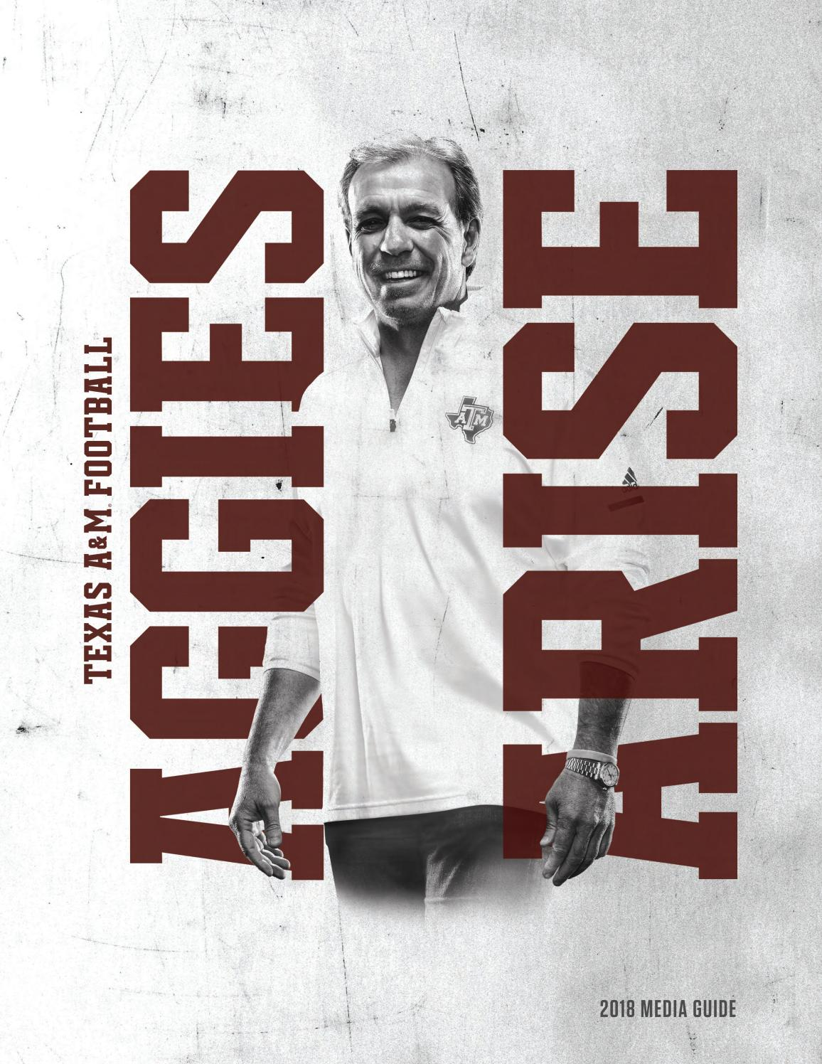 2018 Texas A M football media guide by Mexico Sports Collectibles - issuu f17076de8