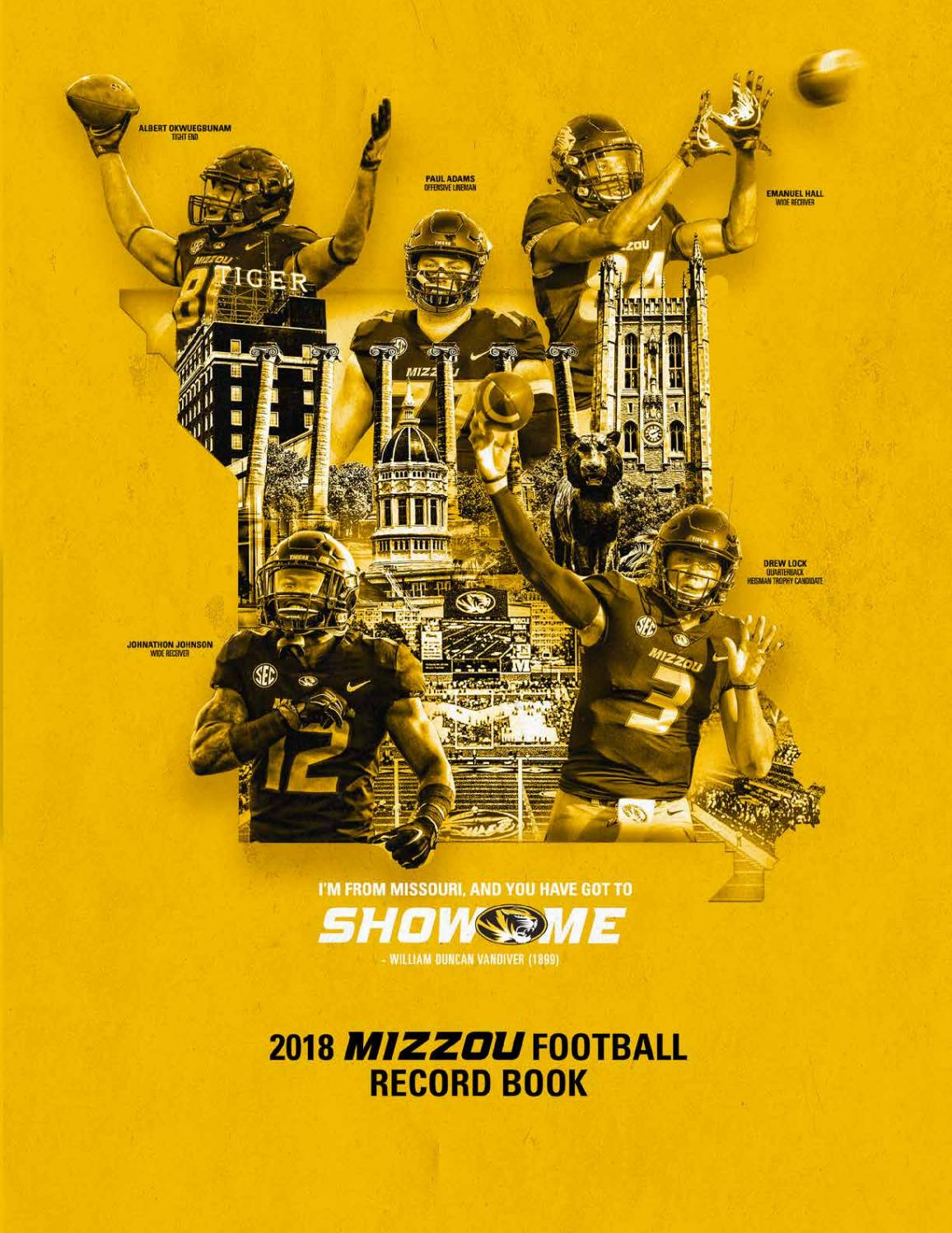 307d2aa7c373 2018 missouri football media guide by Mexico Sports Collectibles - issuu