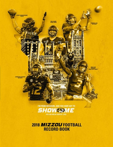 8df1a341a06 2018 missouri football media guide by Mexico Sports Collectibles - issuu