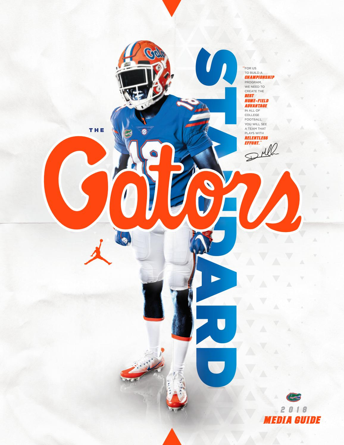 6206d7741a5 2018 florida football media guide by Mexico Sports Collectibles - issuu