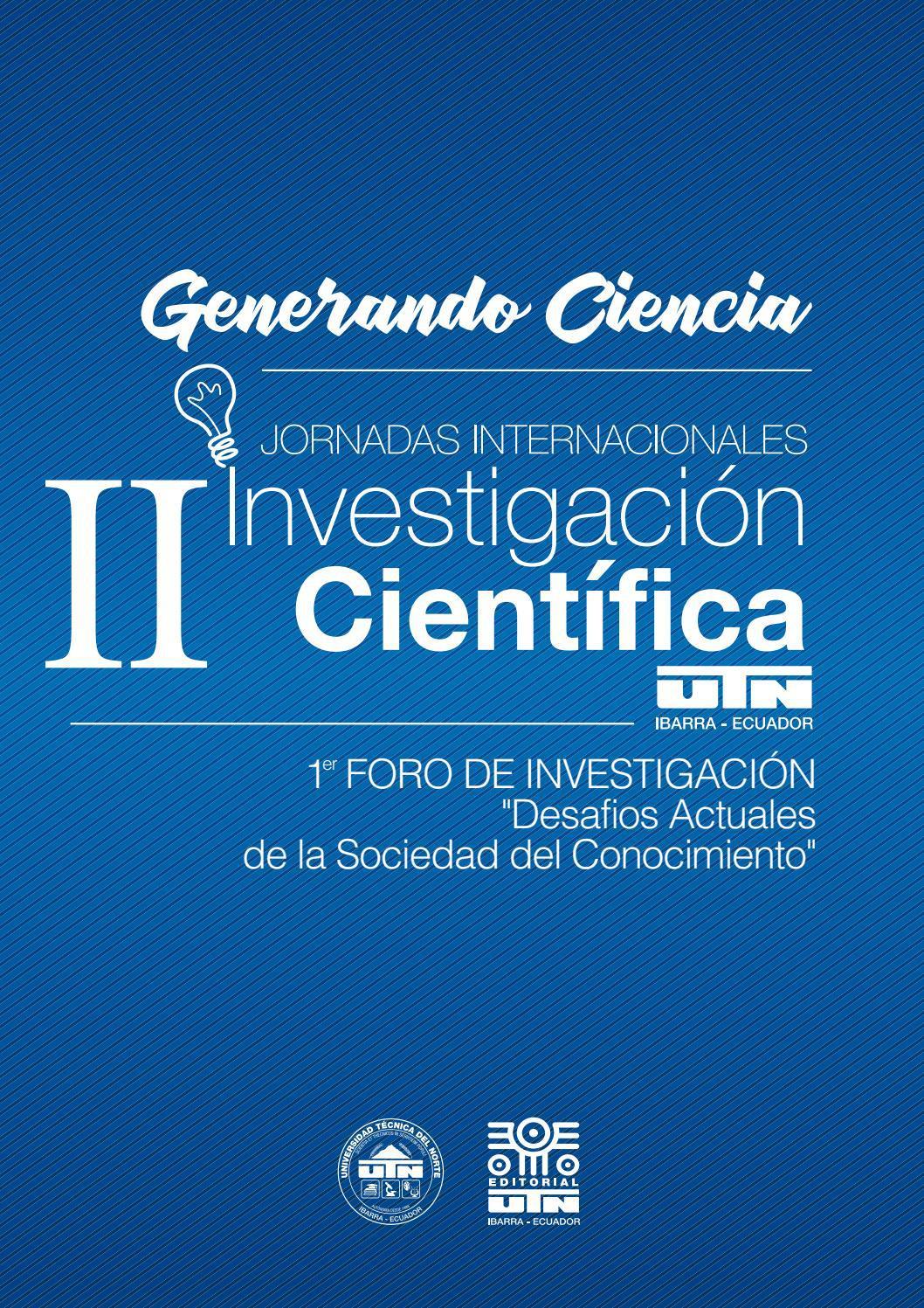 II Jornadas Internacionales de Investigación Científica UTN by ...