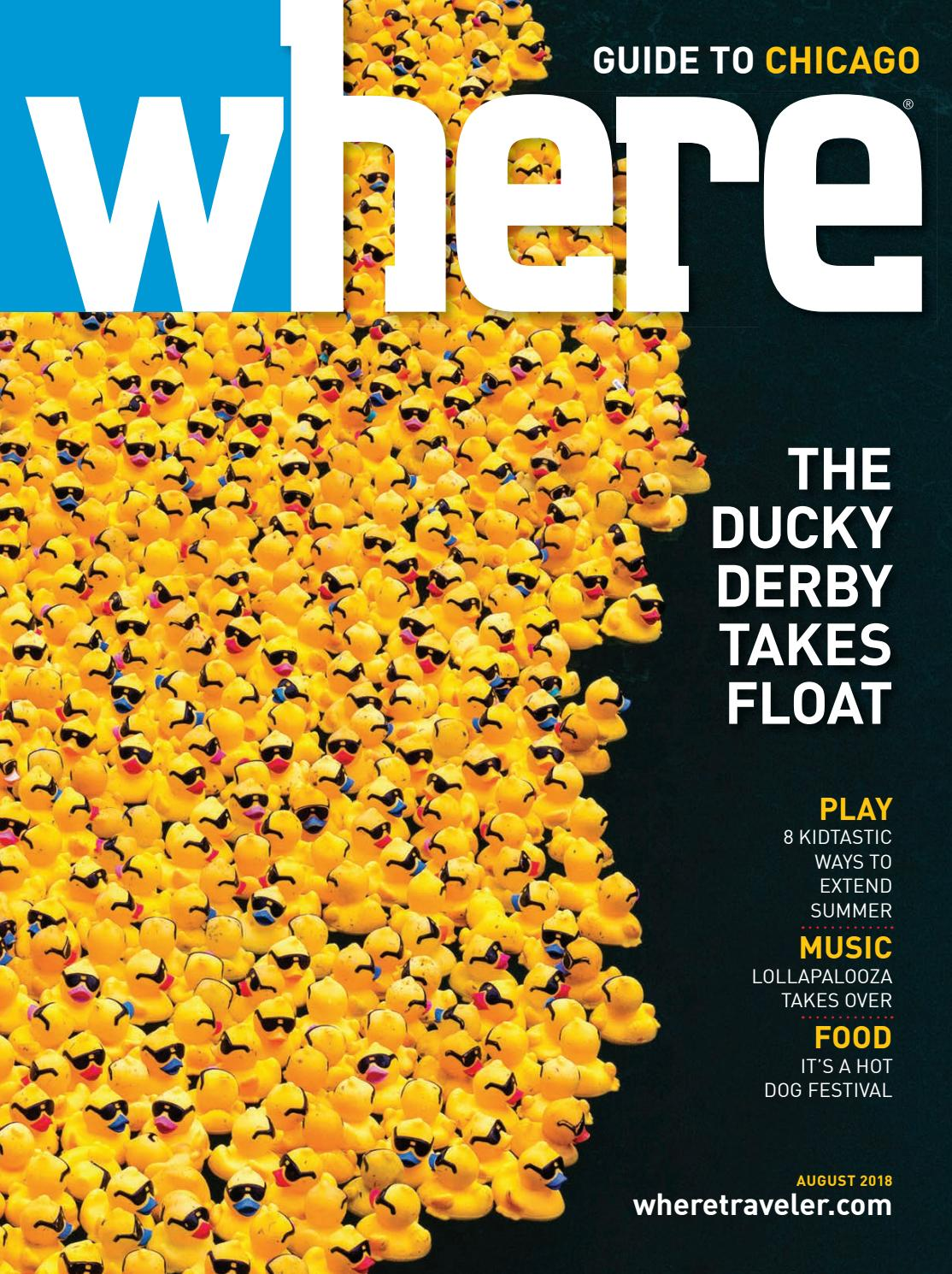 Where Magazine Chicago Aug 2018 by Morris Media Network - issuu