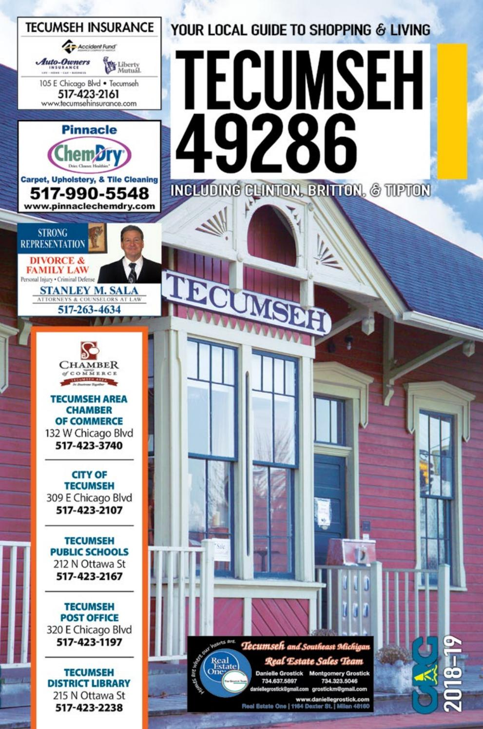 Total Local 2018-19 Tecumseh MI Community Resource Guide by Total Local -  issuu