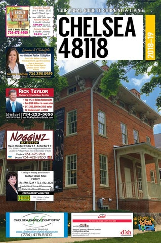 Total Local 2018-19 Chelsea MI Community Resource Guide by Total