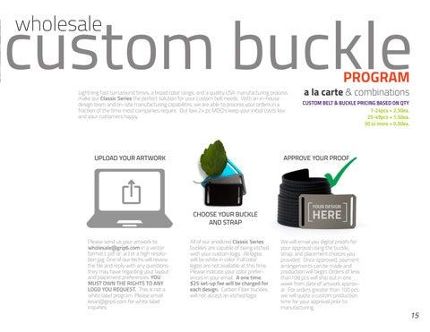 Page 15 of GRIP6 Custom Buckle