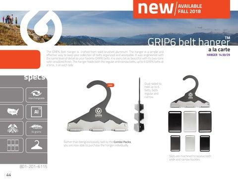 Page 44 of GRIP6 Belt Hanger