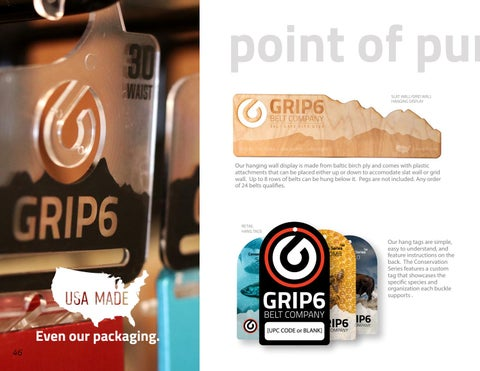 Page 46 of GRIP6 Point of Purchase and Packaging