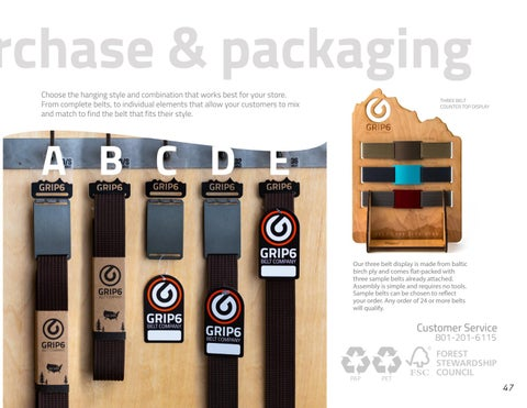 Page 47 of GRIP6 Point of Purchase and Packaging