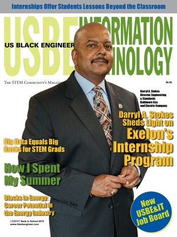 US Black Engineer & IT Volume 37 Issue 3 by CCGMAG - issuu