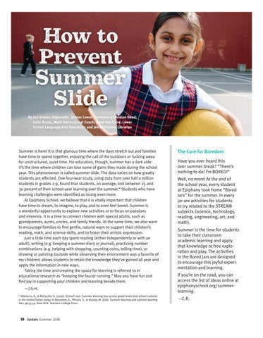 Page 20 of How to Prevent Summer Slide