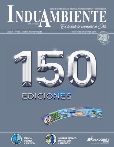 5f99105640 REVISTA INDUAMBIENTE Ed. N°150 / Ene-Feb 2018 by Revista ...