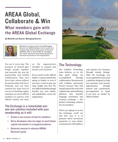 Page 32 of AREAA Global: Collaborate and Win