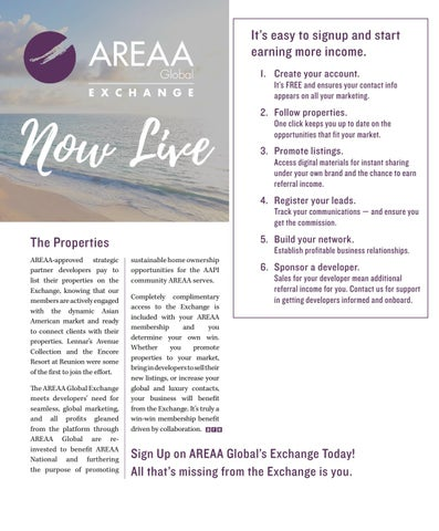 Page 33 of AREAA Global: Collaborate and Win
