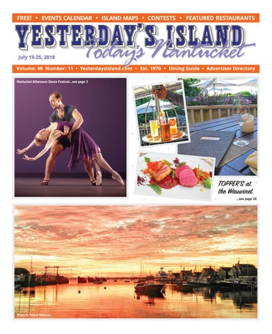 8f9e0bf4e4e733 Yesterday's Island, Today's Nantucket; Vol 48, Issue 11; July 19 ...