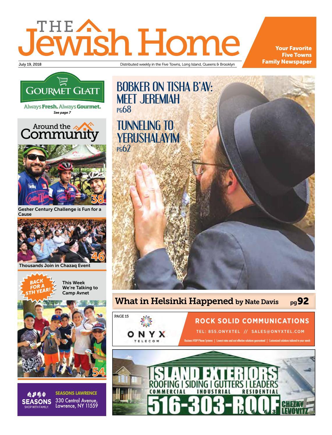 Five Towns Jewish Home - 7-19-18 by Yitzy Halpern - issuu