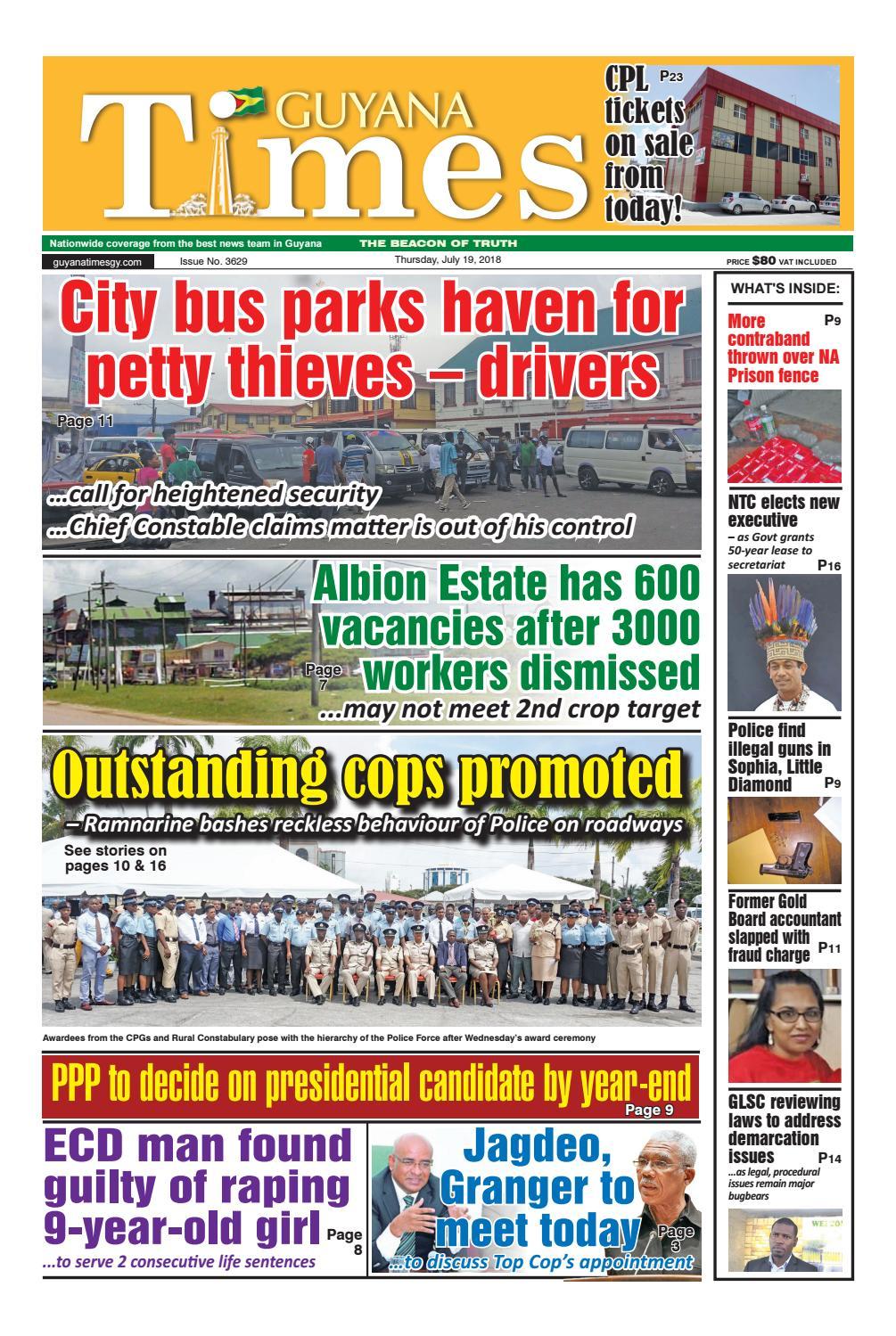 Promo Harga Cop Fbt Update 2018 Original Acf Ac 7206u Panel Bonding Perekat Cable Lcd Guyana Times Thursday July 19 By Gytimes Issuu