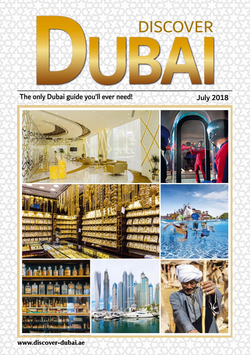 July 2018 Discover Dubai by Connector Publishing - issuu