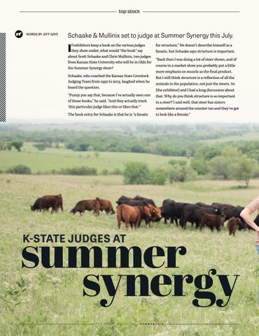Page 22 of K-State Judges at Summer Synergy