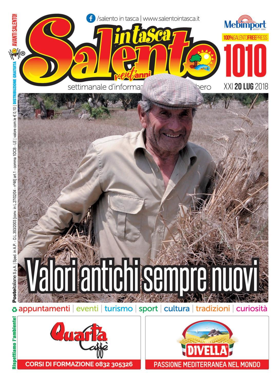 Giada Sciortino Calendario 2020.Salento In Tasca 1010 By Salento In Tasca Issuu