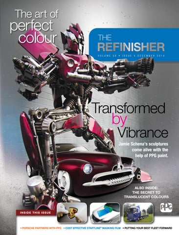 PPG Refinisher Vol56 Issue 4 2014 by PPG - The Refinisher