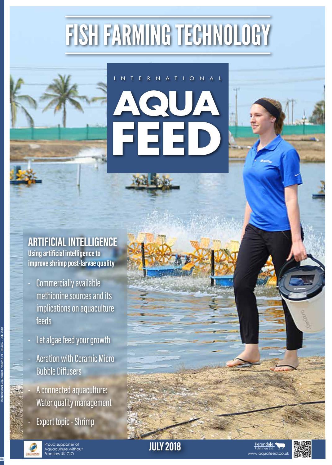 JUL 2018 - International Aquafeed magazine by Perendale