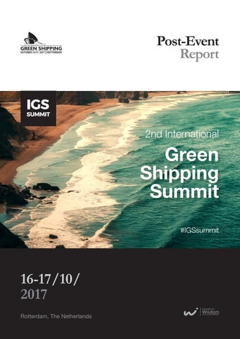 Page 1 of 2nd International Green Shipping Summit