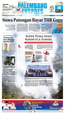 Palembang Ekspres Kamis 19 Juli 2018 By Palembang Ekspres Issuu