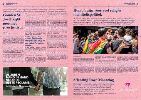 Page 2 of Gayformatorisch Dagblad | Roze Maandag | p. 2 en 3