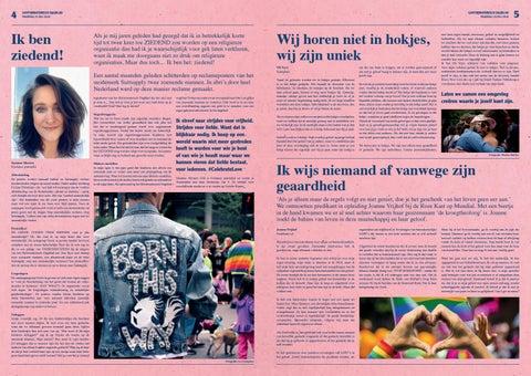 Page 3 of Gayformatorisch Dagblad | Roze Maandag | p. 4 en 5