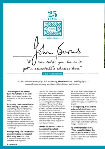 Page 18 of John Burns 25 Year Interview
