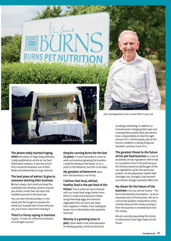 Page 19 of John Burns 25 Year Interview
