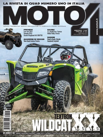 Cover Iphone 6 - Moto4 rivista di quad