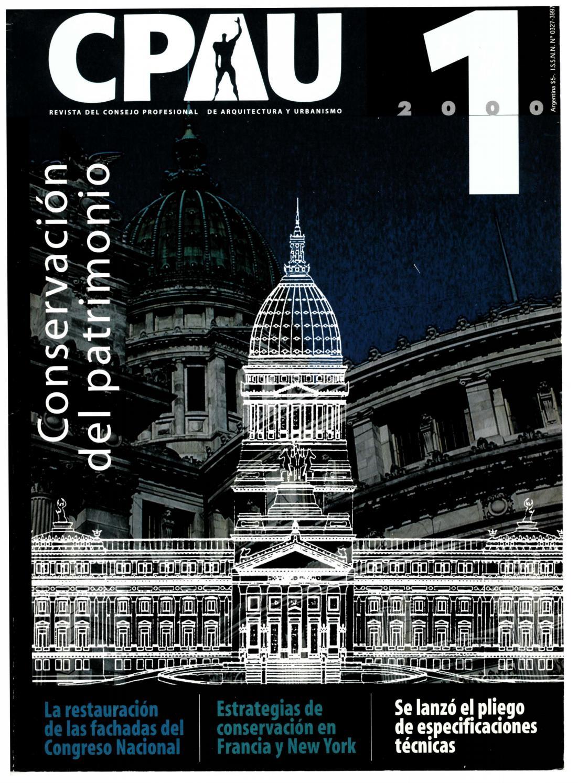 CPAU   Revista del Consejo Profesional de Arquitectura y Urbanismo. -- no.  1 (abr. 2000) by Biblioteca CPAU - issuu a87e9f7bc7b